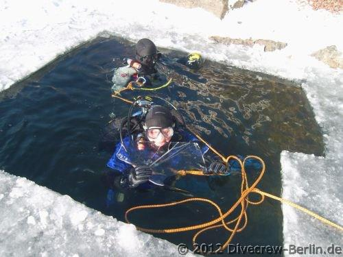 Event Eistauchen Angebote Ice Diver und Trockentauchen
