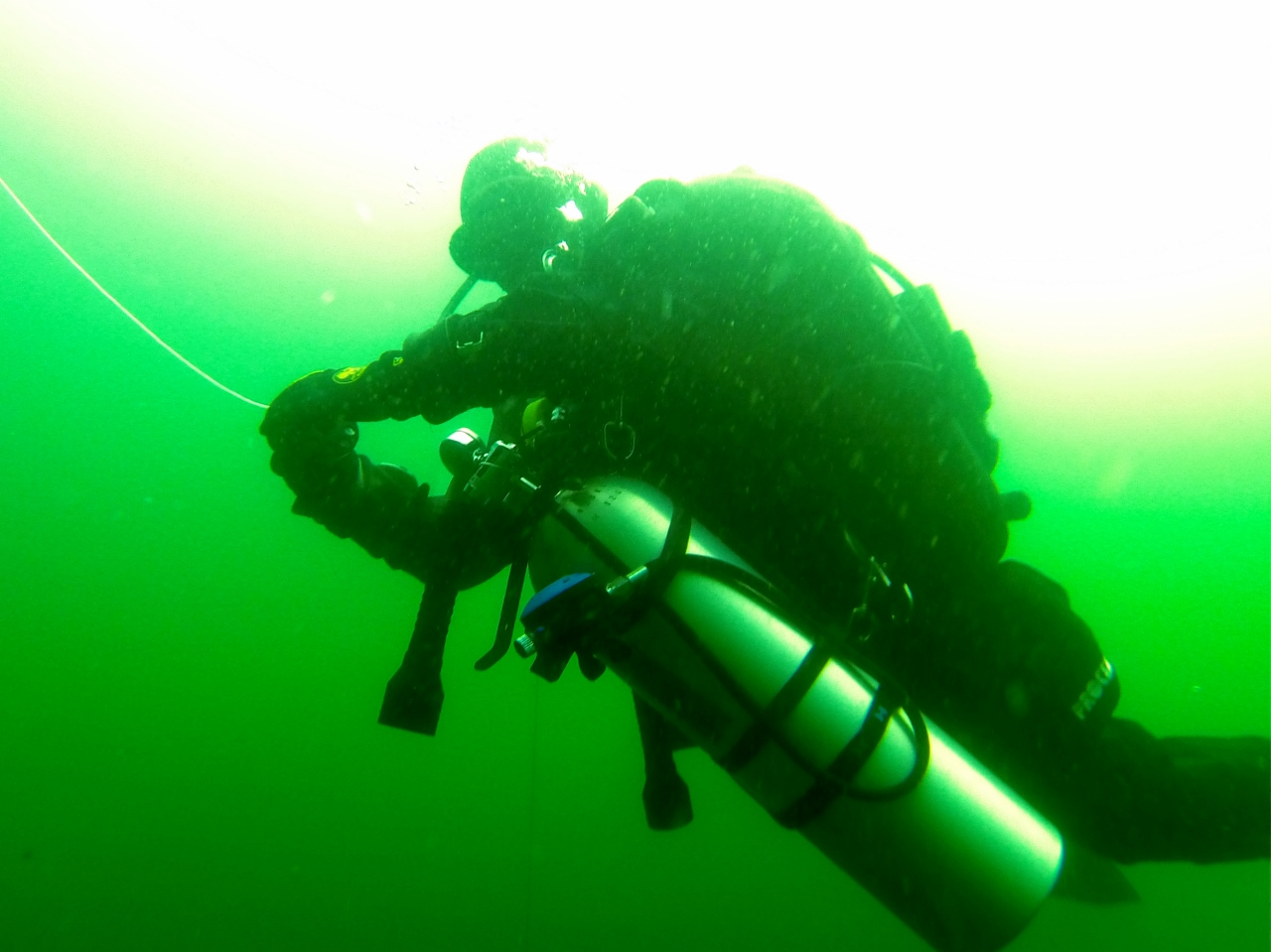 Impressionen von unserem Tec40 / Tec Sidemount / Deep Diver Kurs – Steina und Prelle